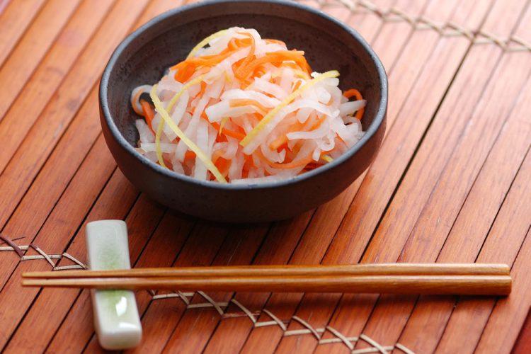 """Японский салат """"Намасу"""""""